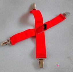 Pulcsitartó - pulcsitróger piros