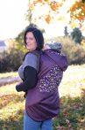Tündérputtony hordozó takaró 4 évszakos - fekete