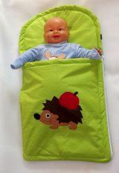 Tündérputtony újszülött babazsák süni