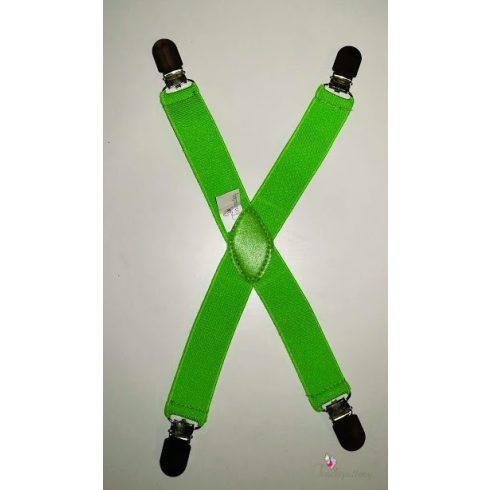 Pulcsitartó - pulcsitróger zöld