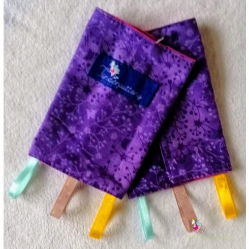Univerzális pántvédő / pántrágóka lila
