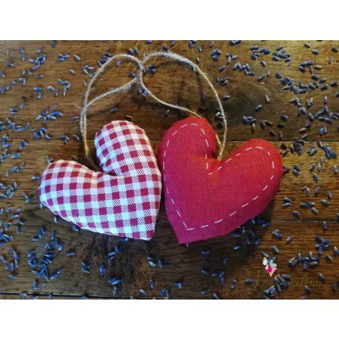 Levendula szív
