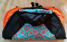 Tündérputtony 2 évszakos hordozó takaró - fekete