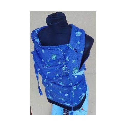 Tündérputtony állítható baby mei-tai kék pitypang